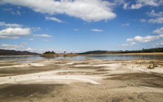 Wind, hot weather leads to decline in dam levels
